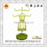 Fashion elegant metal earring tree jewelry display stands