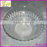7 inches large mixing heat resistant glass bowl for microwave oven