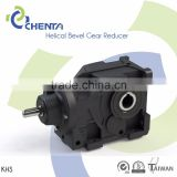 HELICAL BEVEL GEAR REDUCER KHS MODEL toyota hiace 90 degree gearbox