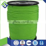 diamond braided nylon anchor dock line with metal hook