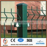 PVC coated or galvanized welded wire mesh panel / fence / building material / animal cage / anping factory