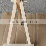 Wood standing easel for sale