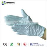 lint free ESD PVC dotting gloves,Antistatic dotted gloves