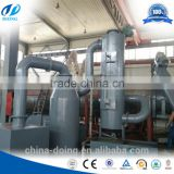 low investment high profit business continuous waste plastic pyrolysis plant with CE ISO certificated