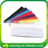 Wholesale colored blank polyester headband