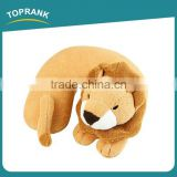 Toprank Wholesale Plush PP Cotton Animal Shaped Memory Foam Neck Pillow,Soft PP Cotton Cartoon U Shape Neck Pillow