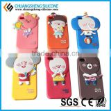 2015 Hot For New Products Fashion Animal Shape Silicone Phone Case