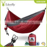 Hot sale 2017 hammock single and double parachute outdoor hammock for camping