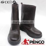 Cow leather military boots/factory in China