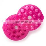 Silicone chocolate mould ball shape jelly cake mould cake decorating perforated baking tray