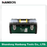 High Quality 14'' 17'' 19'' Double Layer Metal Tool box,Iron Tool Case