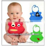 Different designs silicone disposable baby bibs/waterproof bibs/silicone rubber baby bibs