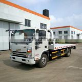 5ton road block removal cheap flatbed street wrecker tow trucks for sale