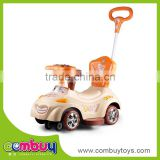 Hot selling wholesale music funny car toy baby trolley walker