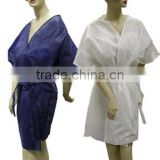 disposable medical kimono, nonwoven kimono robes for beauty spa & salon