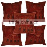 New Rajasthani 100% Cotton Hand Made Cushion Cover