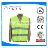 Safety vest with 2 horizontal reflective tape