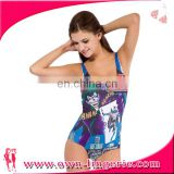 2016 new swimwear one piece swimsuit girl
