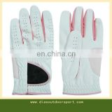 colored leather ladies golf gloves