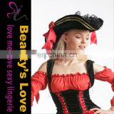 Beauty`s Love Halloween Costume Hat Sexy Women Pirate Hat