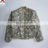 Newest slim fitted military bomber flight jacket pilot nice looking field