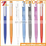 Wholesale custom logo plastic ball pens with full color printing