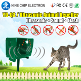 New garden euipment solar powered cat deterrent and wild animal trap cat deterrent wild animal trap
