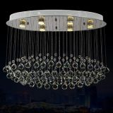 Lighting Crystal LED Ceiling Light 7006-6 used for home, villa