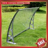 house door window aluminium aluminum pc awning canopy shelter canopies awnings cover sunvisor shield polycarbonate diy