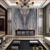 Fatory price luxury hotel villa wall decoration italian Palissandro Blue marble slab