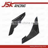 FOR EVO 9 BUMPER CANARDS JSK STYLE CARBON FIBER FRONT BUMPER CANARDS(2 PCS) FOR MITSUBISHI LANCER EVO 9 (JSK200609)