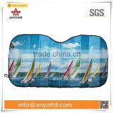 Full color printed car windshield sun shade