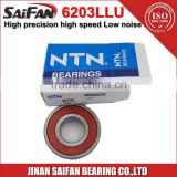 Japan Bearing 6203 NTN Bearing 6203LB 6203LLU NTN Deep Groove Ball Bearing 6203RZ 6203LLU                                                                         Quality Choice
