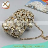 Fashion Luxury crystal diamond evening party banquet clutch bags handbag for ladies women