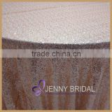 SQN64B1 rose gold sequin tablecloth,table decorations for wedding gold                                                                         Quality Choice
