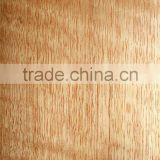 0.5mm 1mm thickness natural Red Tung Figure wood veneer for decorative furniture laminated skin sheets