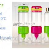 G&J 2015 eco friendly infuser water bottle China