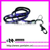 Fashion Neck Rhinestone Lanyard with Keyring for Camera, USB, MP3, Cell Phone, ID Card & Keychain