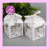 Party favour box wedding centerpieces packaging chocolate box love theme wedding candy boxTH-81