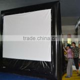 large airtight inflatable outdoor movie screen