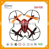 3D rolling mini quadcopter cooler fly control drone with HD camera for photo taking and video recording toy drone
