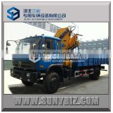 Dong Feng 4X2 XCMG/SQ8ZK3Q 8t hydraulic folding arm dump truck with crane                                                                         Quality Choice