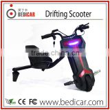 Bedicar 3 wheel Drift Scooter Electric 3wheel Drifting Scooter                                                                         Quality Choice