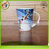 Wholesale colorful printing sublimation drinking cup,reusable ceramic porcelain tea&coffee cup sets