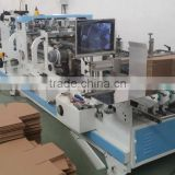 High speed automatic carton box crash-lock bottom folder gluer machine/carton box making machine prices