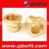 Bofit bronze bushing,slide copper bush , flanged brass bimetal bushing OEM avialable