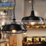 LOFT RH Loft Vintage Copper Base Edison Iron Shade Industrial Pendant Lamp Light Lighting E27/E26 110V/220V