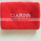 Logo customized Custom Personalized Cheap Promotional Cotton Sport Wristband &Terry Wrist Band &Woven Wristband