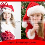 Gift hat Plush Red and White Santa Claus Caps Santa's Hat for Christmas Party Costume