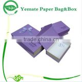new products advertising attractive decorative handmade recycle cardboard paper scarf gift box packaging
